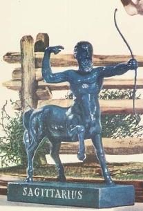 sagittarius horoscope statue zodiac old
