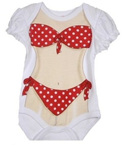 What Do You Think? Baby 'Bikini' Onesie - Too Much? 