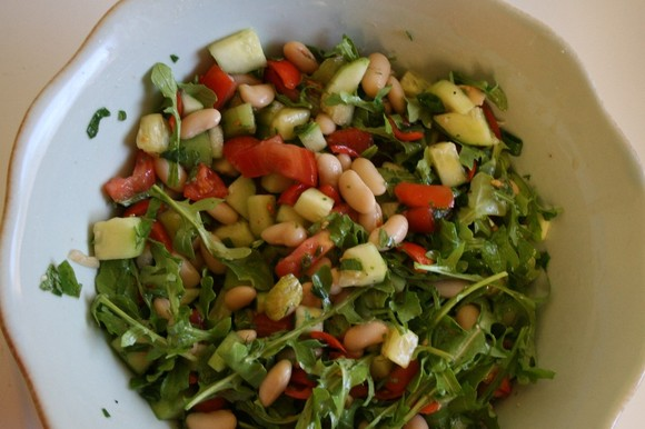 Recipe: White Bean Salad